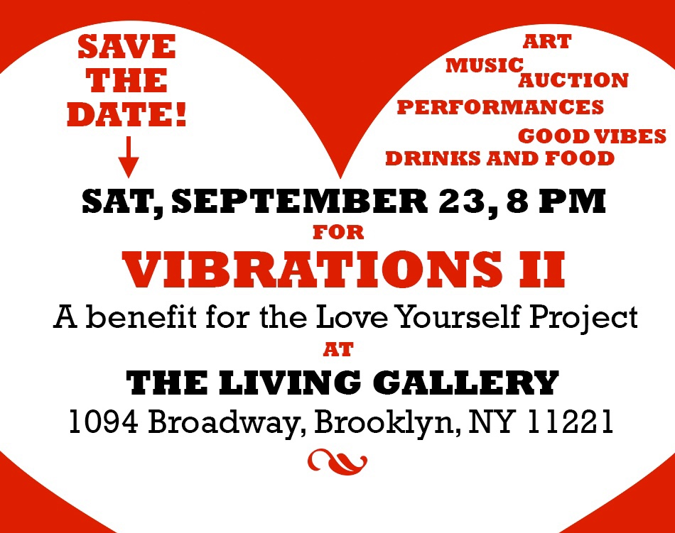 Vibrations II, A benefit for the Love  Yourself Project, Sept 24, 2017